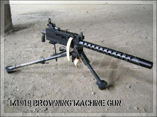 страйбольный пулемет Браунинг М1919 от Viva Arms