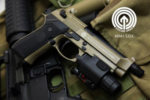 beretta M9a1 GBB пистолет для страйкбола от SOCOM Gear