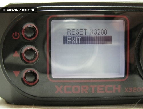 Хронограф XCORTECH X3200 Shooting Chronograph (Фото 20)