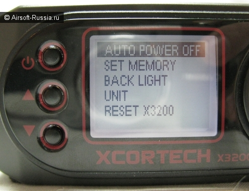 Хронограф XCORTECH X3200 Shooting Chronograph (Фото 15)