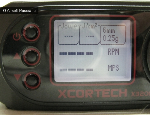 Хронограф XCORTECH X3200 Shooting Chronograph (Фото 14)