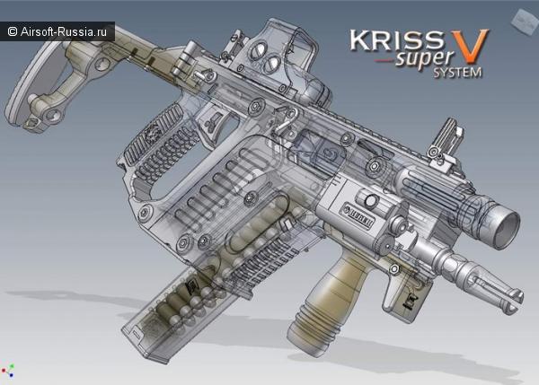 Kriss Vector от фирмы KWA   в формате AEG