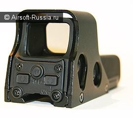 Реплика голографического прицела L-3 EOTech™ HWS 552.A65 c ночным (вторая марка работает в ИК диапазоне) режимом