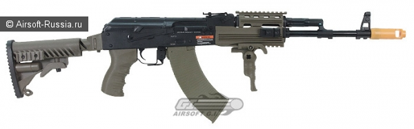 Javelin Airsoft Works: Tactical AK-74 EBB-R