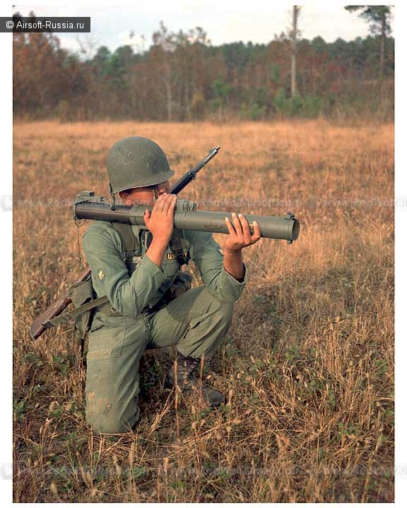 Deep Fire: гранатомет M72A2