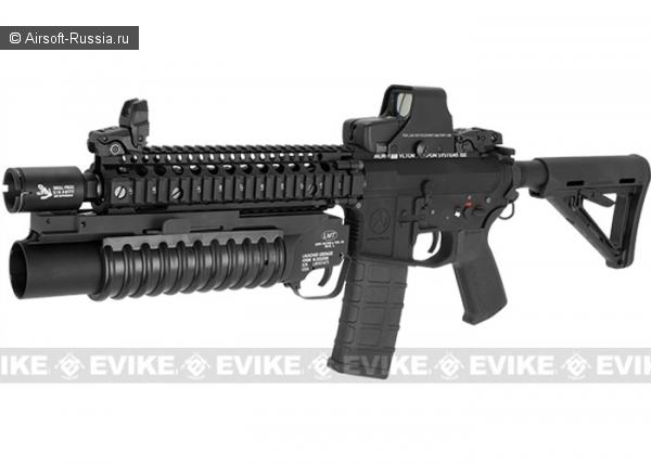 G&P: карабин Autobot M4 с подствольным гранатометом