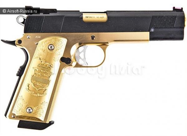 Western Arms+Shibuya Custom Works=позолоченный пистолет (Фото 2)