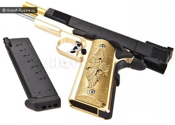 Western Arms+Shibuya Custom Works=позолоченный пистолет