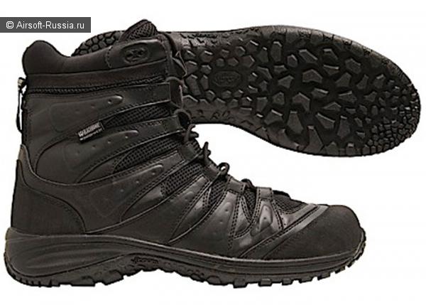 Blackhawk: новые ботинки