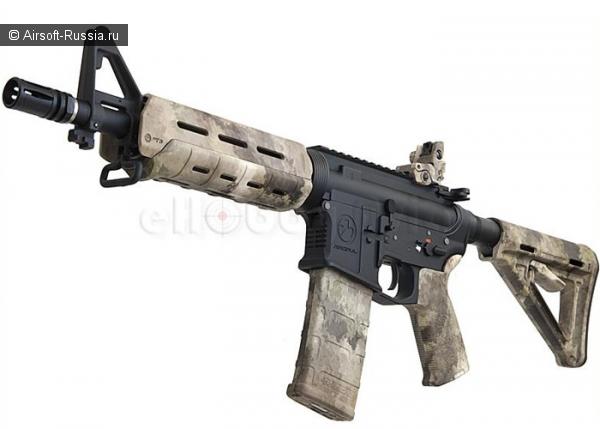 Magpul (G&P): M4 CQB MOE, кастом с перекраской