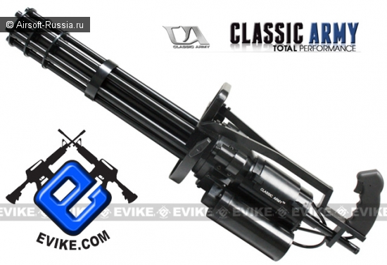 Classic Army: пулемет Vulcan M134-A2
