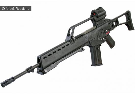 ARES: новая версия AS36 AEG