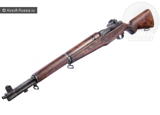 RedWolf Airsoft Custom: винтажная винтовка Marushin M1 Garand
