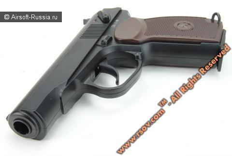 KWC: пистолет Макарова