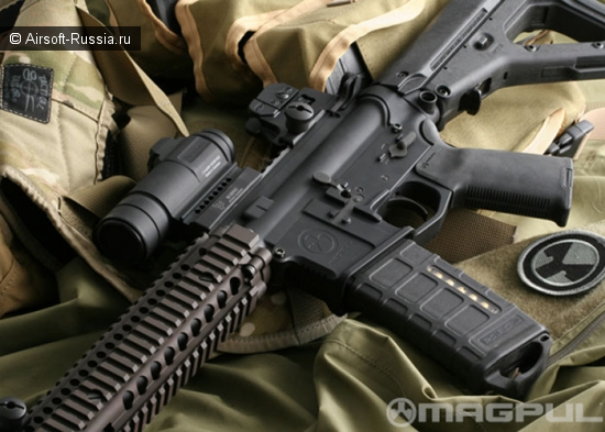 Magpul: рукоятка MOE®+ для AR15 и M16