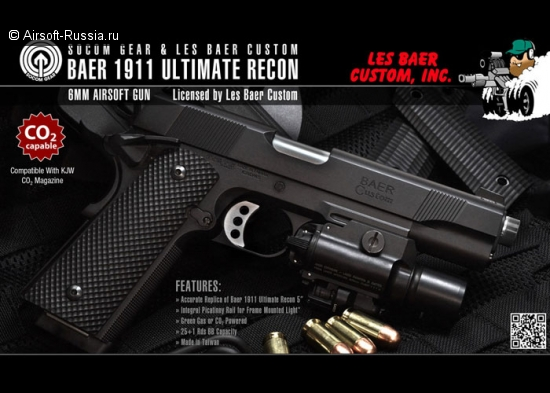 SOCOM Gear: Baer 1911 Ultimate Recon