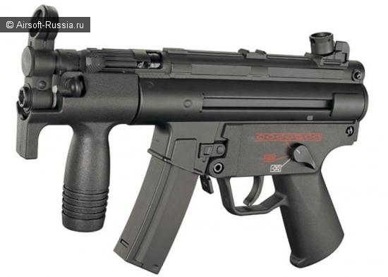 CYMA: металлический MP5K AEG