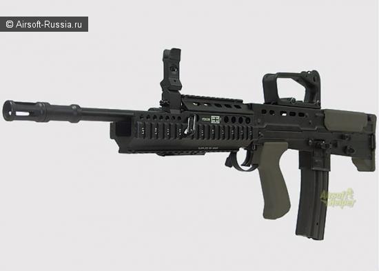 Army L85A1 с Daniel Defense и с IR