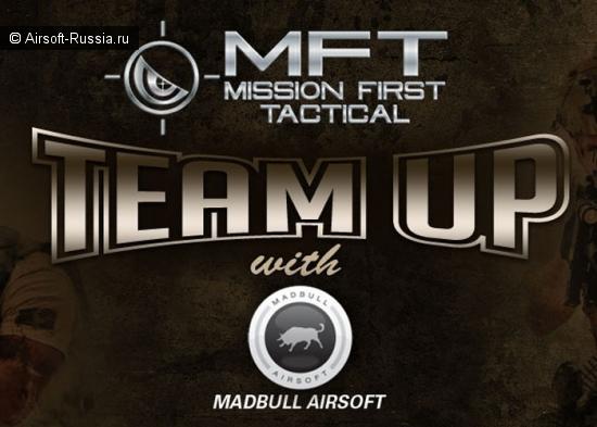 Сотрудничество Mission First Tactical и MadBull