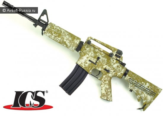 ICS: ограниченный выпуск Desert Digital M4 AEG