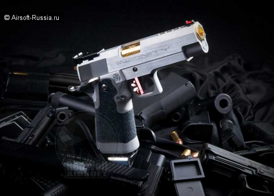 Airsoft Surgeon: Infinity 4.3 Hybrid Silver