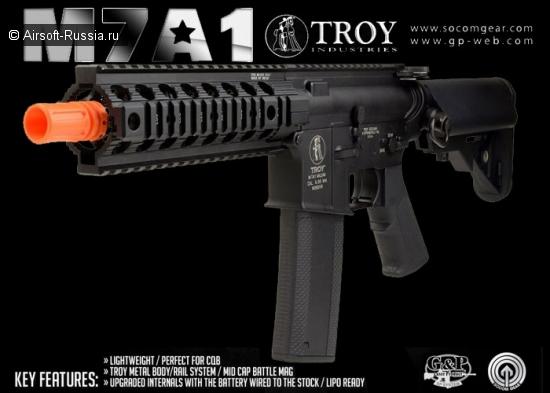 SOCOM Gear: Troy M7A1 AEG