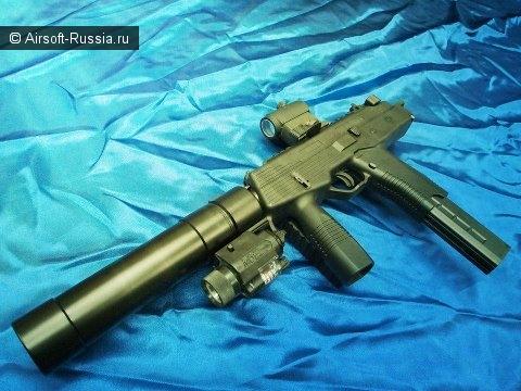 Angry Gun: глушитель для MP9