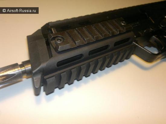 Hammerson Combat: рельсы для KSC MP7