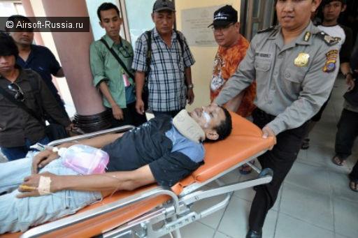 Индонезийские сельчане весьма круты