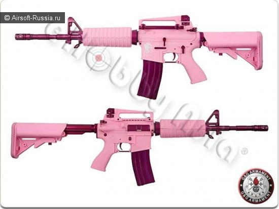 Брутальный розовый