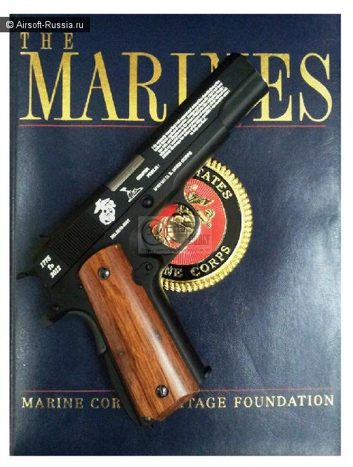 Ограниченный выпуск USMC M1911A GBB