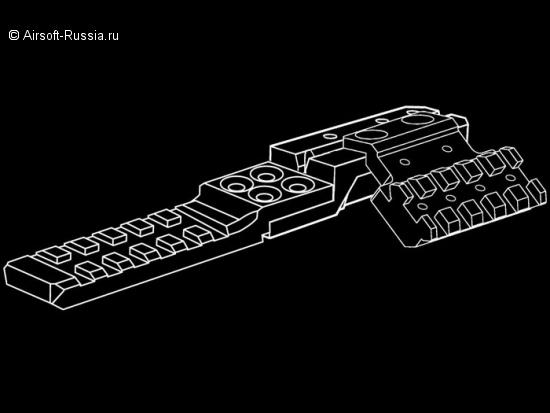 Strike Industries: составные рельсы для AK