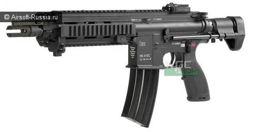 Umarex/VFC: HK416C и M27 в AEG-варианте
