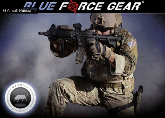 MadBull и Blue Force Gear
