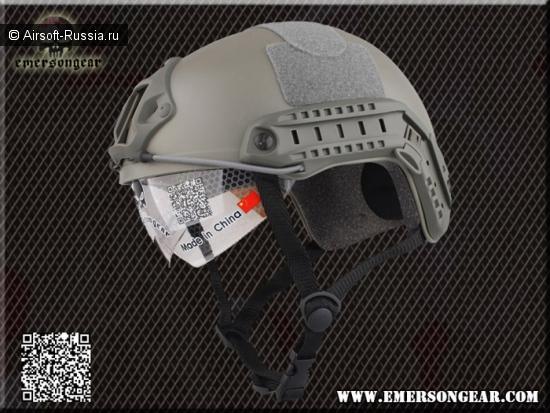 Emerson: шлем с очками
