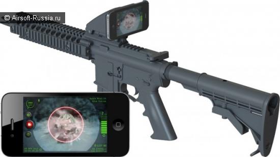 Inteliscope: iPhone в качестве прицела