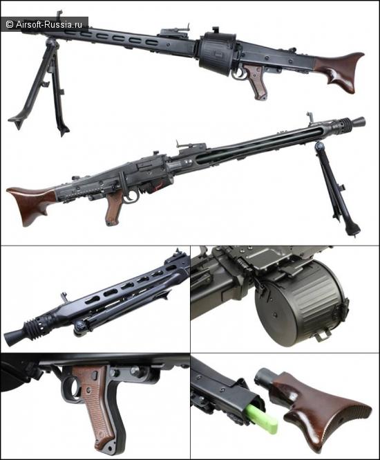 AGM: пулемет MG42