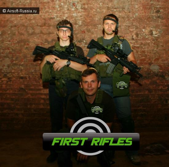 Представительство Cybergun в России ввело практику проката оборудования для тренировок команд.