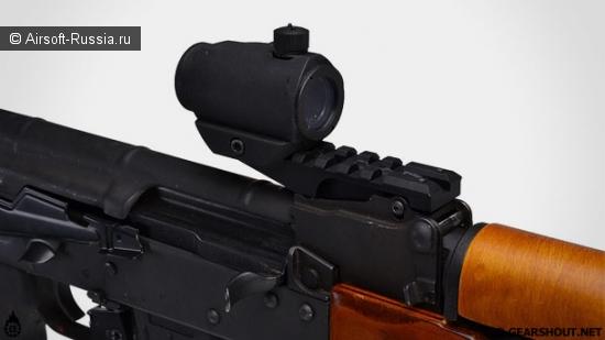 Замена целика AK рельсовой планкой от Strike Industries (Фото 2)