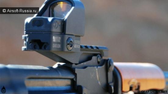 Замена целика AK рельсовой планкой от Strike Industries