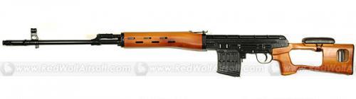 страйкбольная снайперская винтовка СВД King Arms Atoz SVD Dragunov