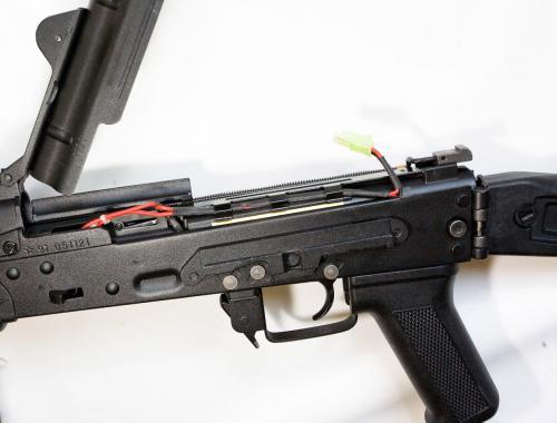 открытая крышка ствольной коробки и проводка DIBOYS, Kalash SLR-106 (Rk-12)