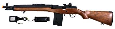 CYMA M14 Sniper Rifle Airsoft AEG Wood страйкбольное оружие