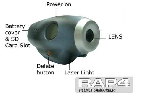 Нашлемная смпортивная видеокамера RAP4