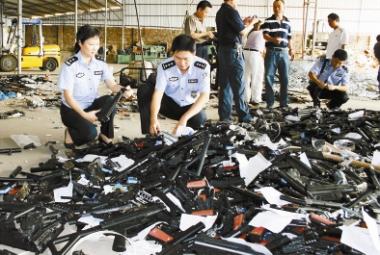 Shenzhen Daily, cyma, AGM, контрабанда эйрсофт оружия из китая