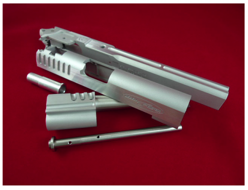 затвор от ProG4 для пистолета для страйкбола hi capa 5.1 gbb от Tokyo Marui