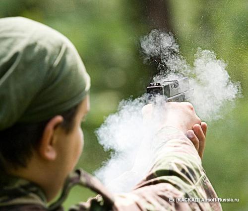 страйкбольный газовый пистолет Glock 17