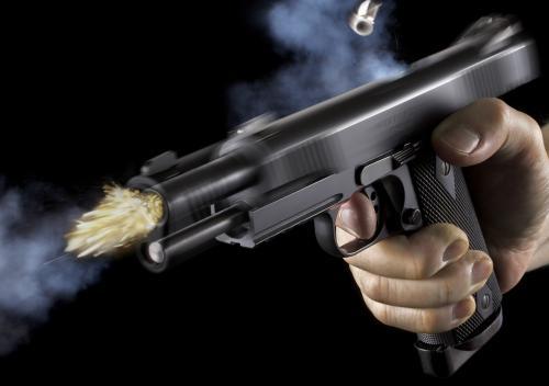 Colt 1911 от Marushin: имитация отдачи, экстракция гильзы и вспышка от выстрела
