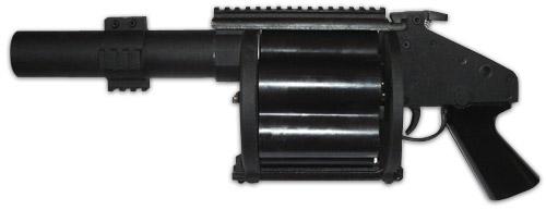 Обзор 5KU Revolver Grenade Launcher