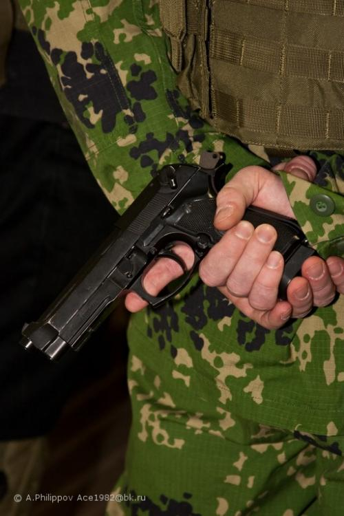 Командные пистолетные соревнования 21 февраля 2010 года.